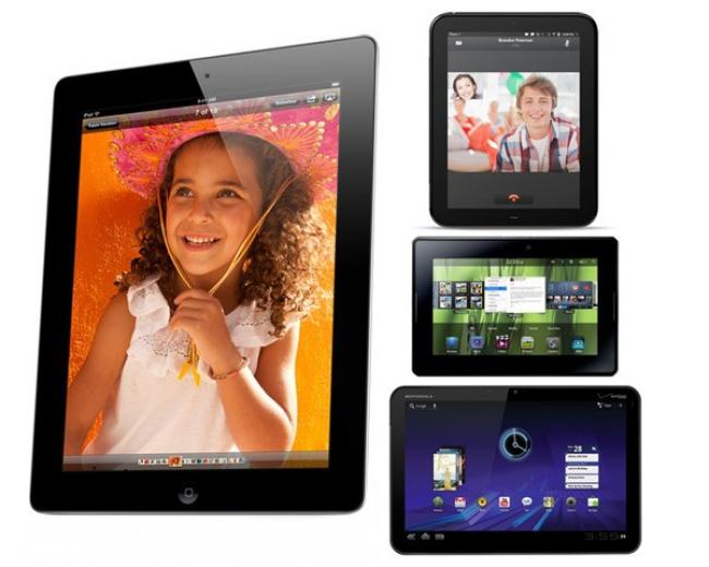 Кто мощнее? Обзор iPad 2 против Motorola Xoom против HP TouchPad против BlackBerry PlayBook