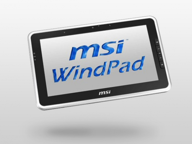 Почти как ноутбук. Планшет MSI WindPad 100W на Windows 7