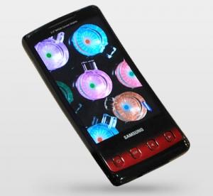 Изогнутый экран в новом телефоне Samsung