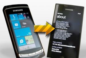 [Гадкий утенок] Samsung i8700 прошел большой путь от прототипа до реальной модели