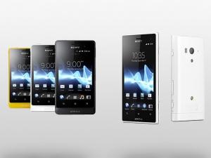 [Водонепроницаемый смартфон] Sony Xperia Go