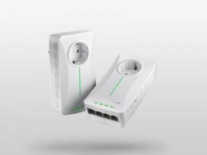 [Сетевой адаптер ASUS]: четыре коннектора Gigabit LAN. Один из них – VIP