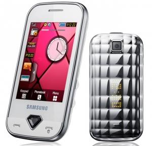 «Гламурная» коллекция телефонов Samsung Diva Collection