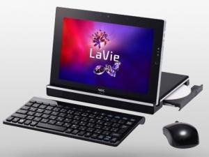 [Планшет с DVD-приводом] NEC LaVie Touch