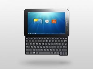 [Samsung Gloria] 10-дюймовый планшет с Win7 и выдвижной клавиатурой?